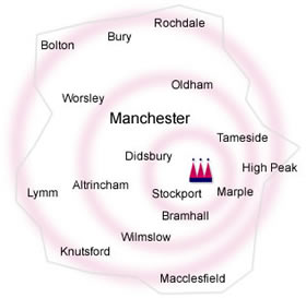 Kigsmaid provides excellent domestic cleaning services to the residents of Stockport, Cheshire and Manchester