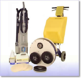 Professional Carpet Cleaning equipment used by Kingsmaid