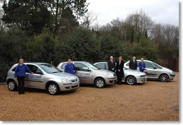 Kingsmaid Domestic Cleaning fleet of cars