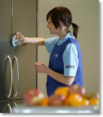 Our cleaner is trained, CRB checked and vetted by Kingsmaid to ensure that you receive a first class domestic cleaning service